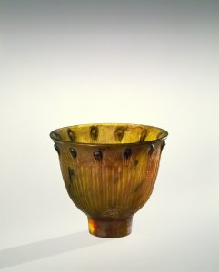 Miniature Bowl with Fluting