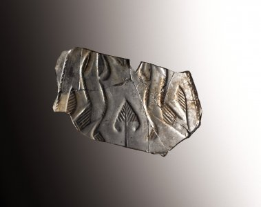 Fragment with Hares