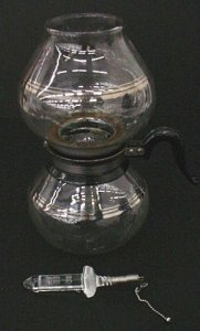3-part Vacuum Coffee Maker