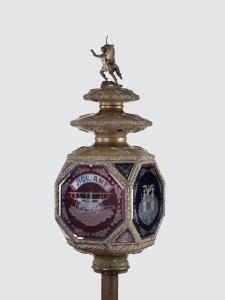 Parade Lantern for a Fire Company