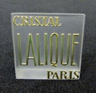 Cristal Lalique Paris
