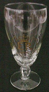 Goblet with Gilded Royal Crown