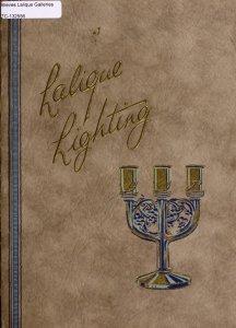 Lalique lights and decorations / designed by Réné Lalique.