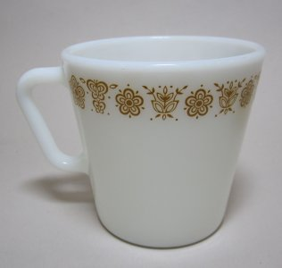 Pyrex Coffee Cup