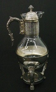 Carafe with Cover and Stand