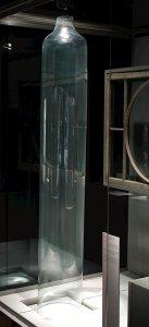 Uncut Cylinder of Window Glass