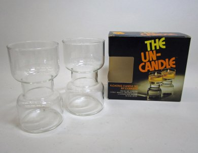Pyrex Un-Candle Sticks in Original Box