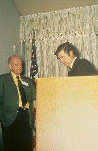 CMG Seminar 1970 [slide]: Paul Gardner, Bob Brill.