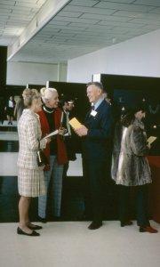 CMG Seminar 1972 [slide]: Bob Rockwell with Miriam Mucha.