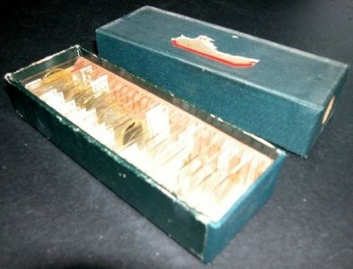 Box of 24 Slides of Mineral Specimens