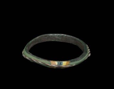 Bracelet with Striped Patch