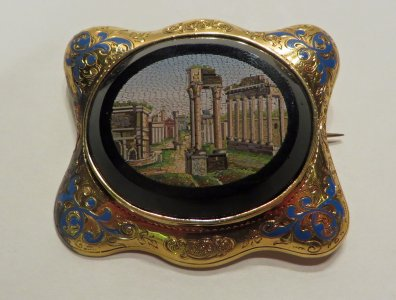 Brooch Depicting the Roman Forum