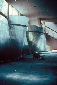 Glass wall, China [slide].