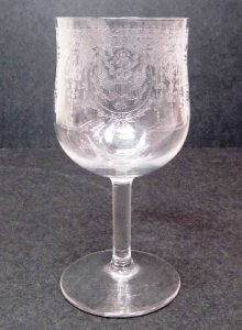 Goblet with Government Seal