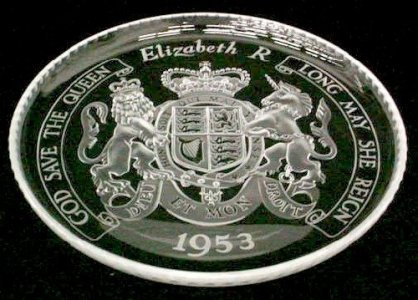 Plate or Salver with Royal Coat-of-Arms