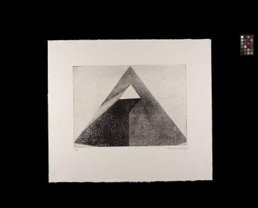 Triangle in the triangle [art original]