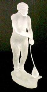 Figure of a Glassblower