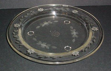 Engraved Pyrex Tile