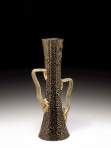 Venetian-style Twin-handled Vase