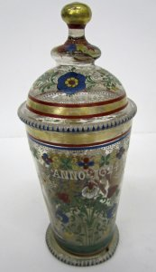 Armorial Beaker with Cover