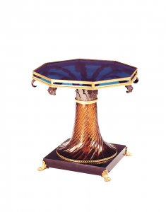 Cut Glass Table