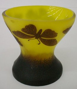 Vase with Decoration of Butterflies