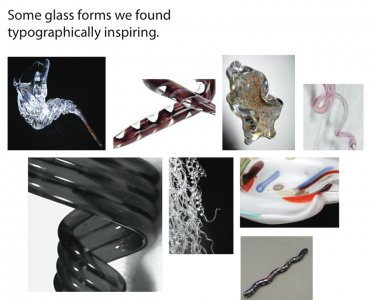 [Images of inspiring glass forms] [electronic resource].