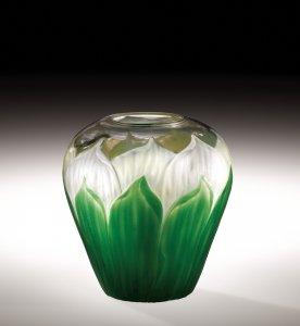 """Favrile """"Cameo"""" Vase"""