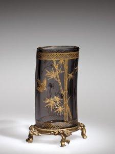 Vase with Metal Mount