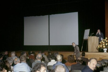 CMG Seminar, Oct. 6-8, 1977 [slide]: [view of the stage]