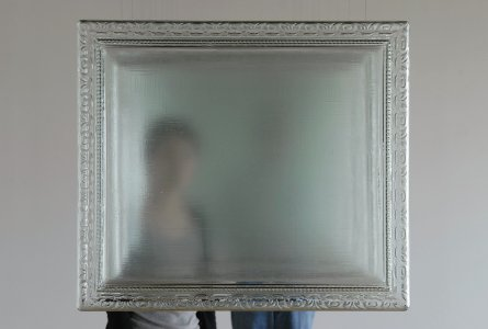 Through the painting [picture].