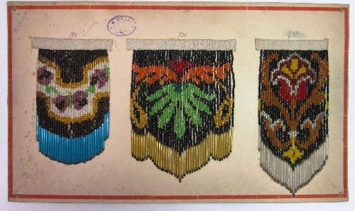Beaded Fringe Sample Card