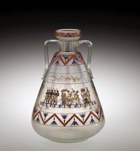 Vase with Egyptian Decoration