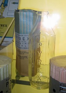 Pyrex Brand Baby Bottle with Original Packaging