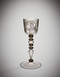 Goblet with Portrait of Maximilian II