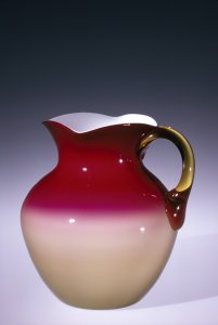 Pitcher, Peachblow