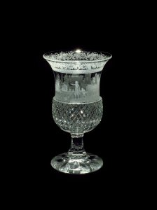 Goblet with a Harbor Scene