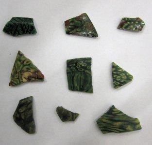 9 Fragments of Bowls