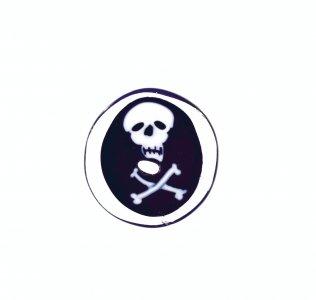 Murrina with Skull and Crossbones