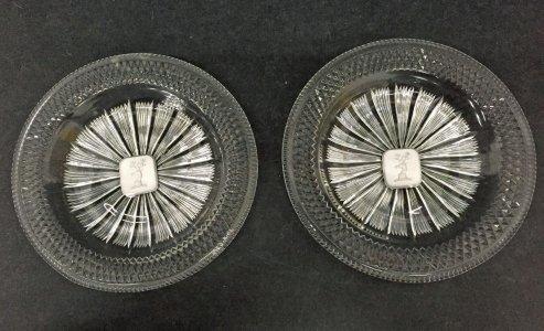 2 Dessert Plates