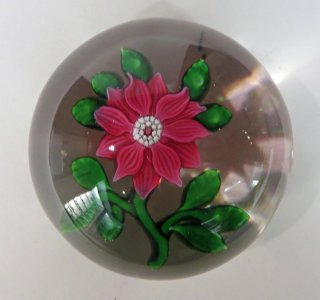 Paperweight with Clematis