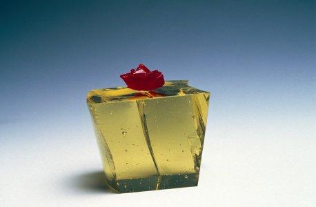 Gold cube [slide].