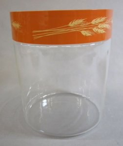 Pyrex Canister