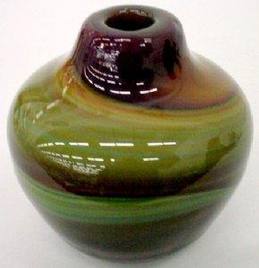 Schmeltzglass Vase
