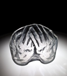 Bowl with Hand Imprint