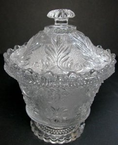Lacy Covered Sugar Bowl
