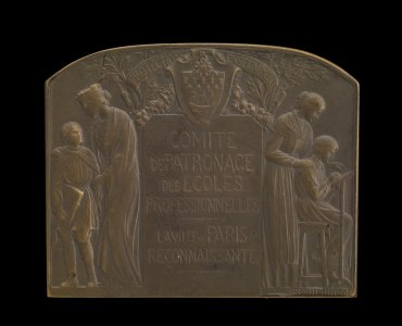 Educational Medal awarded to Rene Lalique