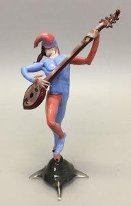 Male Jester Musician