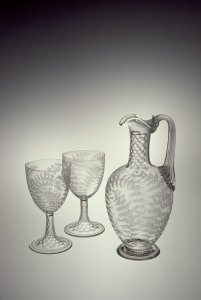 Jug and 2 Goblets