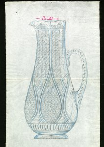 [Design drawing for pitcher] [art original].